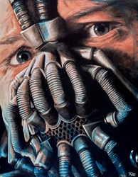 Bane II by Pete Humphreys - Original Painting on Stretched Canvas sized 28x36 inches. Available from Whitewall Galleries